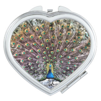 Peacock Compact Mirrors