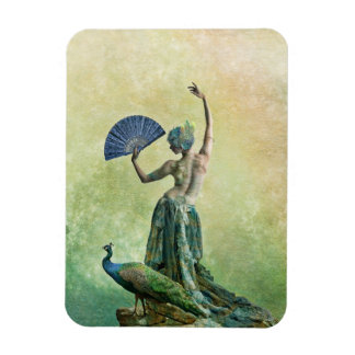 Peacock Dancer Magnet