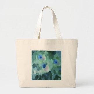 Peacock Design Canvas Bag