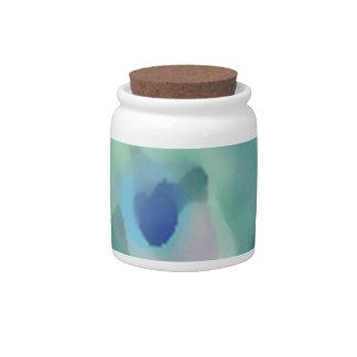Peacock Design Candy Jar
