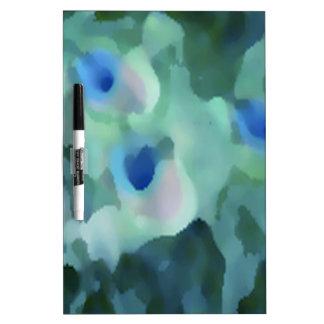 Peacock Design Dry-Erase Board