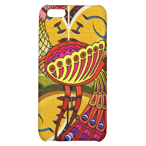 PEACOCK  DESIGN iPHONE 4 CASE