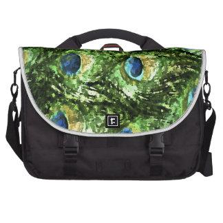 Peacock Design Laptop Bag