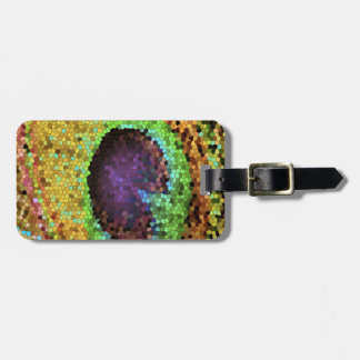 Peacock Design Tags For Bags
