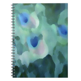 Peacock Design Note Books