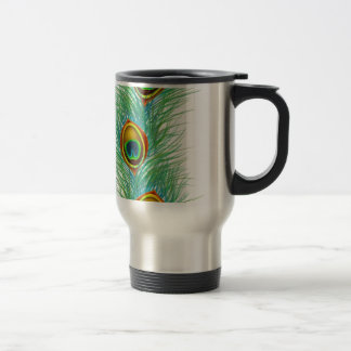 Peacock Design Personalized Gifts 15 Oz Stainless Steel Travel Mug