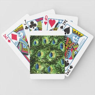 Peacock Design Card Decks