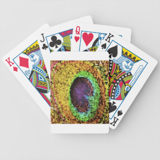 Peacock Design Bicycle Poker Deck