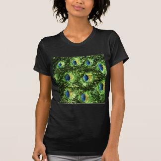 Peacock Design Tee Shirt