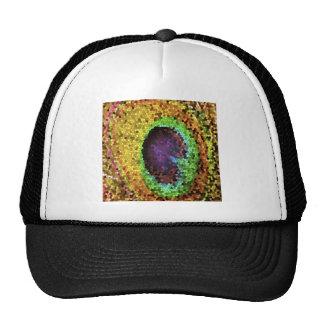 Peacock Design Trucker Hat