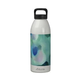 Peacock Design Drinking Bottle