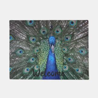 Peacock Doormat