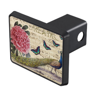 Peacock Dreams Trailer Hitch Cover
