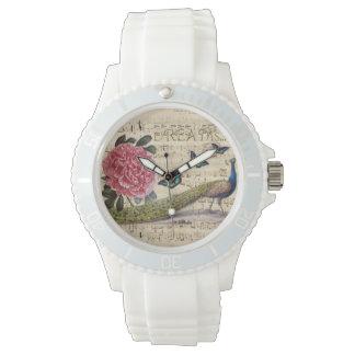 Peacock Dreams Wrist Watch