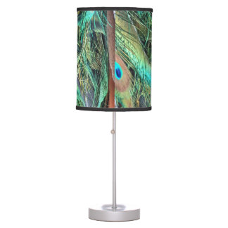 Peacock Exotic New Growth Desk Lamp