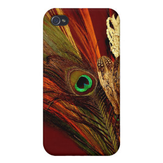 Peacock Eye iPhone Case Cover For iPhone 4