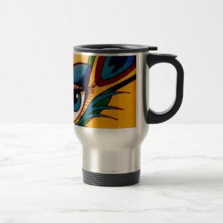 Peacock Eye Travel Mug