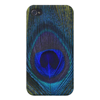 Peacock Feather 4 Iphone 4/4s Speck Case iPhone 4 Cases