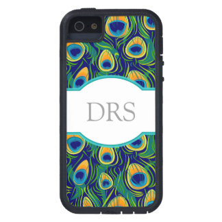 Peacock Feather Animal Print iPhone 5 Case