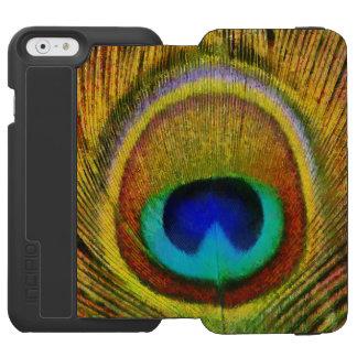 Peacock Feather Art Incipio Watson™ iPhone 6 Wallet Case