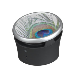 Peacock Feather Bluetooth Speaker