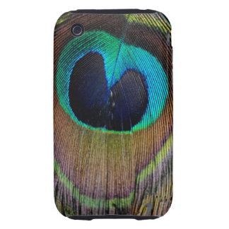 Peacock Feather Case Mate  iPhone 3 Tough Case
