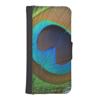 Peacock Feather Cell Phone Case/Wallet iPhone SE/5/5s Wallet Case