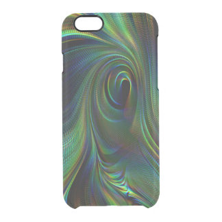 peacock feather color iPhone6/6s Deflector Case