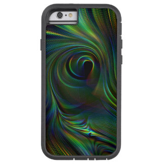 Peacock feather color Tough Xtreme iPhone Case