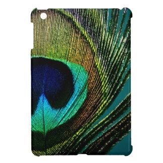 Peacock Feather Colorful Elegant iPad Mini Case