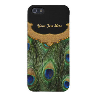 Peacock Feather - Customize iPhone 5/5S Covers