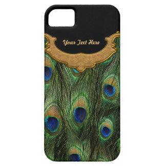 Peacock Feather - Customize iPhone 5 Case