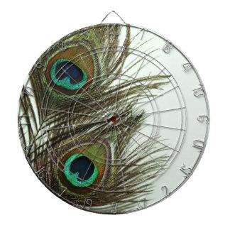 Peacock Feather Dart Board