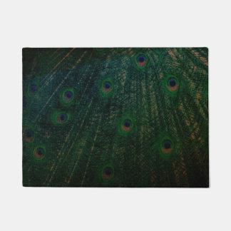 Peacock Feather Door mat