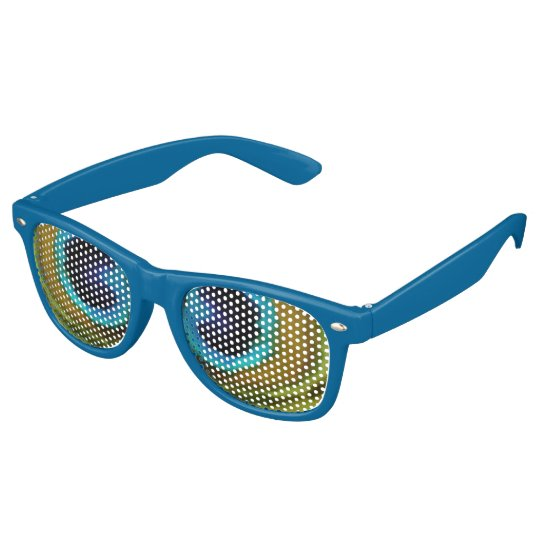 Peacock Feather Eyes Party Shades