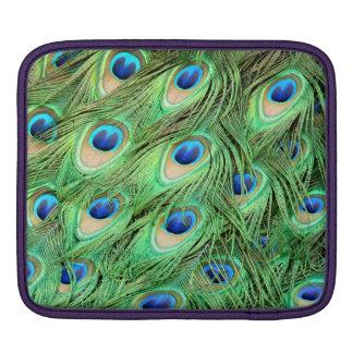 Peacock Feather iPad Sleeve