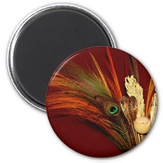Peacock Feather Magnets Favors