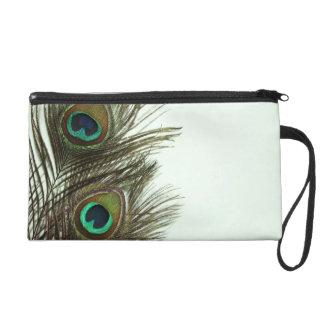Peacock Feather Makeup Bag