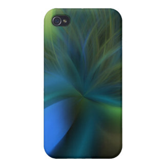 Peacock feather mirage iPhone 4 cases