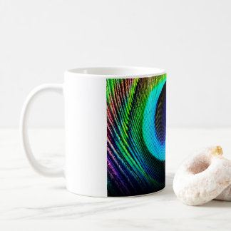 Peacock Feather Mug
