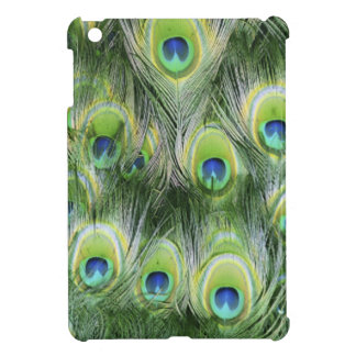Peacock Feather Pattern iPad Mini Cover