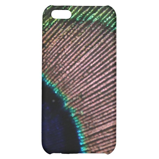 Peacock Feather Peafowl iPhone 4 Case
