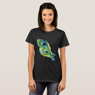 Peacock Feather T-Shrit T-Shirt