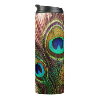 Peacock Feathers 4 Thermal Tumbler