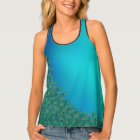 Peacock feathers colourful Tank Top