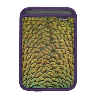 Peacock Feathers iPad Mini Sleeve