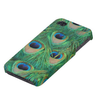 Peacock Feathers iphone 4/4s Case. iPhone Case iPhone 4/4S Covers