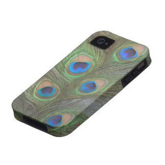 Peacock Feathers iPhone 4 Tough Case