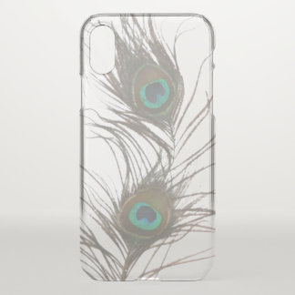 Peacock Feathers iPhone X Case