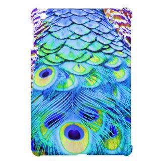 Peacock Feathers Multi Colors iPad Mini Cover